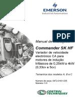 Manual Commander SK Português