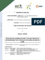Thèse - Ecologie Des Legionelles Dans l'Eau Des Circuits de Refroidissement Des Centrales Nucléaires en Bord de Loire