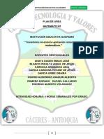 Plan General Matemàticas i.e Guarumo 2015 (2)