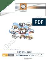 Multigrado 2c2b0 Ciclo Sonora 2012