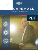 "Bernie Sanders' ""Medicare for All"" plan"