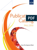 ADB Publications Catalog