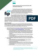 Call for IPSF-FIP Internship 2016