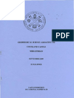 Geophysical Survey adiacent to Cousland Castle, Midlothian