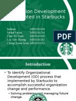 Organization Development Implemented in Starbucks