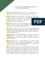 Como Evitar Dez Erros Comuns de Português Na Hora de Escrever Uma Redação