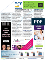 Pharmacy Daily for Mon 18 Jan 2016 - Blackmores formula out, Man dies in drug trial, Pharmacists probed, Priceline ready for the future and much more