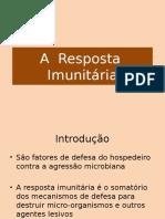A Resposta Imunitaria Correta