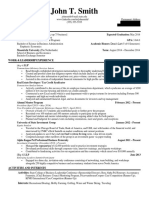 WSO Resume 90