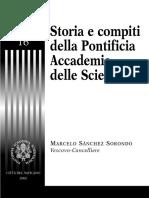SANCHEZ S-Storia e Compiti Della Pontifica Accademia Delle Scienze