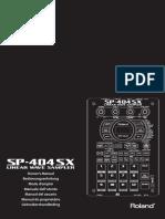 Roland SP-404sx (Sampler)