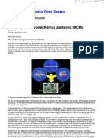 Enabling 3D microelectronics platforms  MCMs