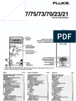 Fluke 73 II User Manual