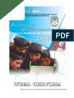 Directiva de Finalización Año 2015 - Ugelch (1)