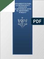 Lineamientos Detenciones Mp Gto