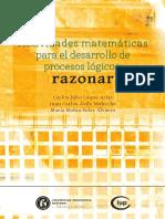 Actividades matemáticas para el desarrollo de procesos lógicos