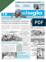 Edicion Impresa El Siglo 18-01-16