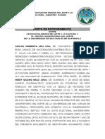 Asociacion Amigos Del Arte y La Cultura – Amartec -Cunor