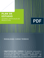 Plan de Estudio Sap