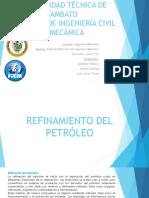 Refinamiento del petroleo