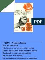 A Rosa Do Povo -Drummond