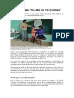 El Quechua 'Muere de Vergüenza'