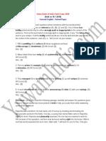 Union Bank of India Clerk Exam - 2010