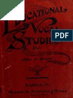 Educational Vocal 00 Brun