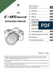 olympus omd em5 mark ii manual