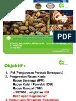 10. Penggunaan Racun Perosak Dalam Tanaman Koko 1. Herbicide