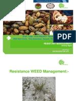 16. Resistant Management