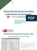 Desarrollo Puerto Callao Alternativas A