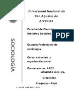 Los Ultimos Dias de La Prensa Novela Estructura