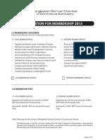 BGCCI Membership Application Form