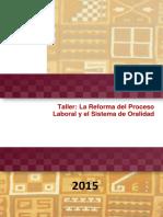 Manual Auto Instructivo - Taller La Reforma Del Proceso Laboral