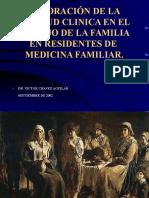 Aptitud Clinica en Manejo de Familia