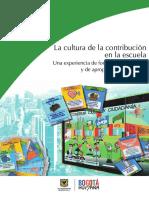 La Cultura de La Contribución en La Escuela