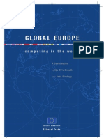 GLOBAL EUROPE - competing in the world - A Contribution to the EU's Growth and Jobs Strategy