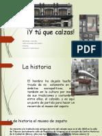 Visita Al Museo Del Zapato 2014