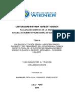 Tesis Universidad Wiener