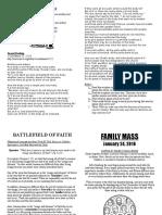 family mass 01 24 2016 bulletin