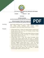 Keputusan Kepala Uptd Puskesmas Kecamatan Pontianak Timur Ttg Isi Rekam Medik