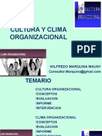 CLIMA SATISFACCIÓN MARQUINA