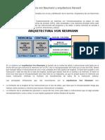Arquitectura Harvard y Von Neumann.pdf
