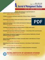 Tecnia Journal Vol 6 No1