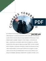 CUMBRES TENEBROSAS
