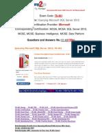 [PDF&VCE]Braindump2go 70-461 Questions and Answers PDF 31-40