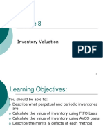 Lecture 8 - Inventory Valuation