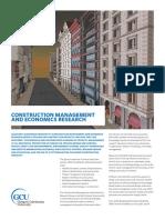 Construction Management and Economics Research