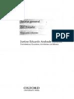 Andrade Sánchez, Justino Eduardo - Teoría General Del Estado